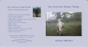 My American Horse Family musical CD
